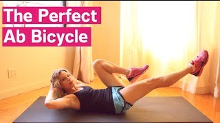 The Perfect Ab Bicycle