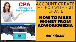 One square is a free online platform..it best platform for learning how to earn money from online. adworkmedia of the famous cpa site offering huge...