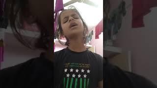 Sings. Song  one. Girl