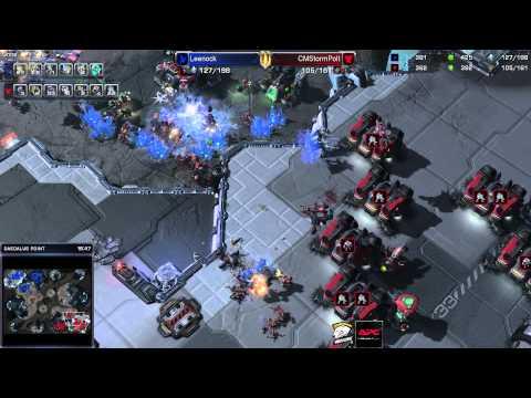 Игра за протоссов с объяснениями - StarCraft 2 c ZERGTV