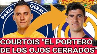 KEYLOR NAVAS en el PSG vs REAL MADRID demuestra a ZIDANE que es mejor que COURTOIS