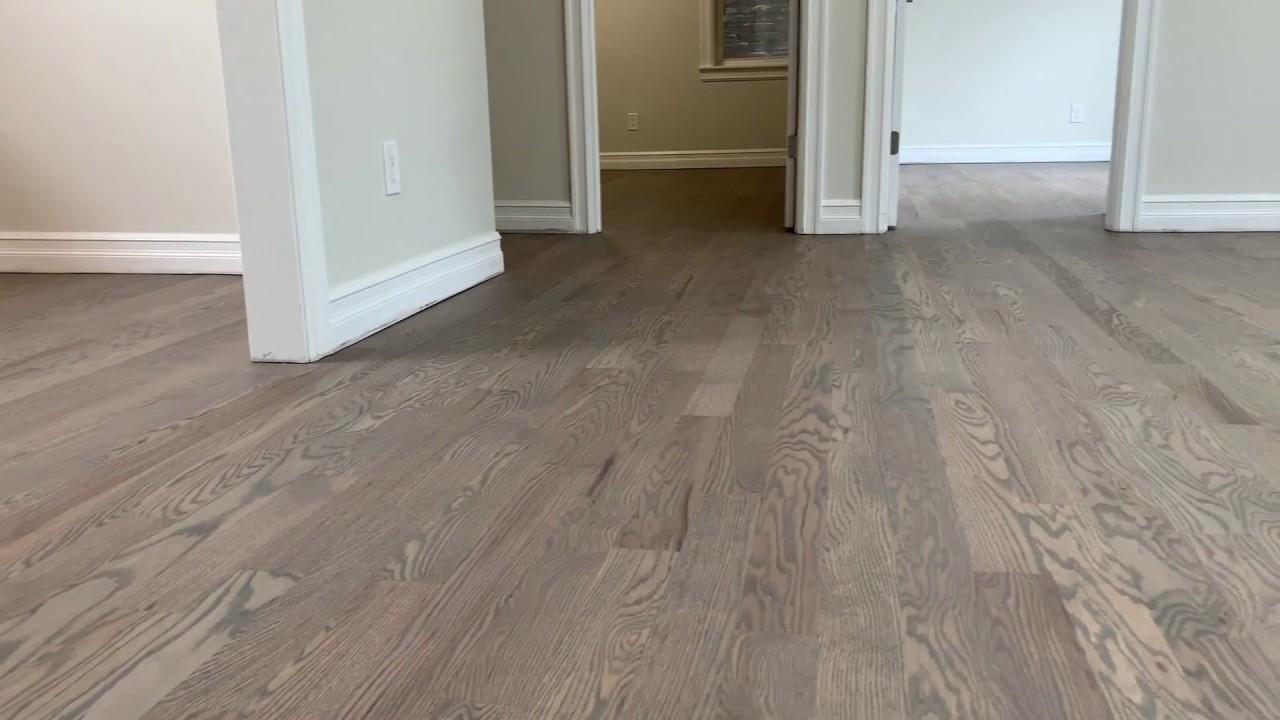 Wood Floor Stain Finish Grey