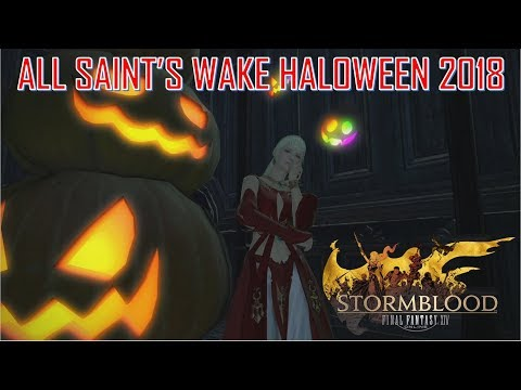 Final Fantasy XIV - All Saint's Wake Halloween Event 2018