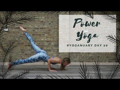 DAY 20: POWER YOGA | Yoganuary Yoga Challenge | CAT MEFFAN