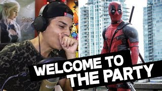 Diplo, French Montana & Lil Pump ft. Zhavia -Welcome To The Party (Official Video) Deadpool Reaccion