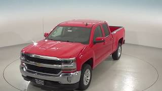 182165 - New, 2018, Chevrolet Silverado, 1500, LT, Red, Double Cab, Test Drive, Review, For Sale -