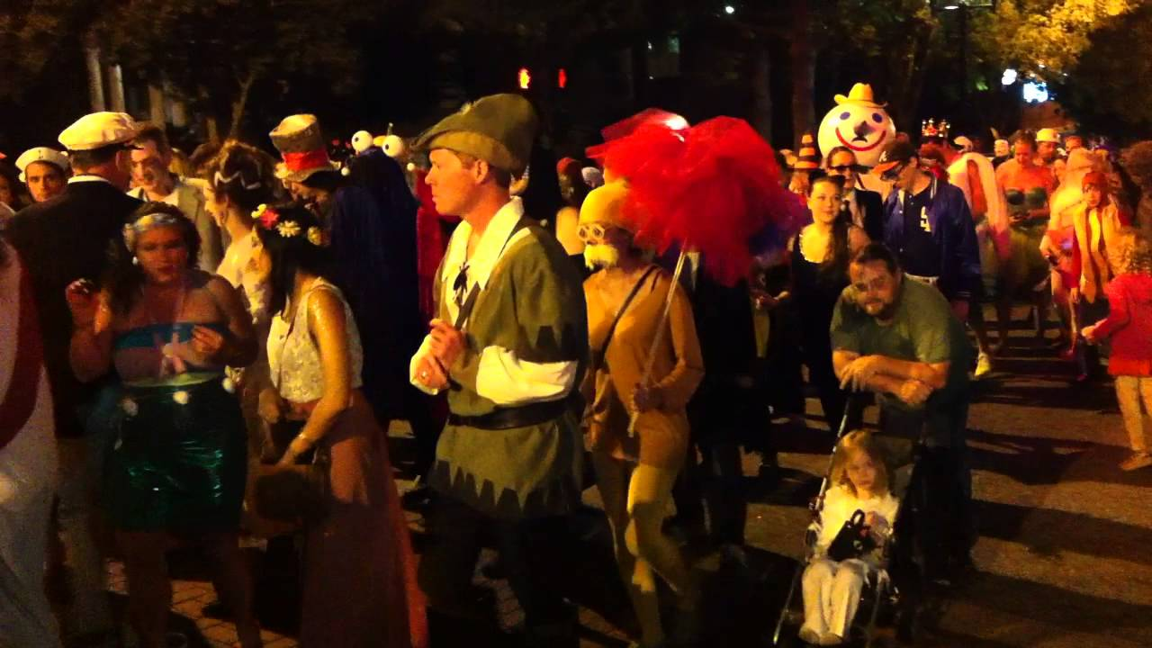 athens ga halloween parade clayton and hull youtube