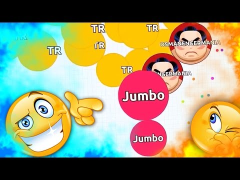 FUNNY DESTROYING TEAMS IN AGARIO !! ( Agar.io Solo Gameplay )