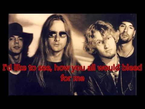 Alice in Chains- Bleed The Freak (Lyrics Video)