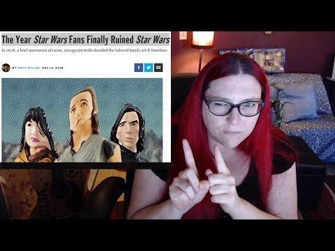 CORRECTING The TOXIC STAR WARS SHILL MEDIA: Random RANTS!