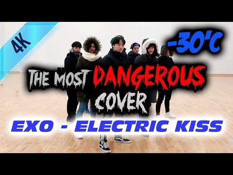 The Most DANGEROUS Public Dance EXO (엑소) - Electric Kiss ⚡️💋(일렉트릭키스) Dance Cover (-30'C) Freeze ver.
