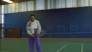 Большой теннис Подача