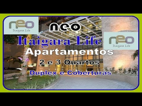 Neo Itaigara Life, Apartamentos 2 e 3 Quartos, Coberturas, Itaigara, Salvador