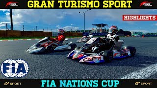 GT Sport - FIA Final Season Highlights (Racing Kart)