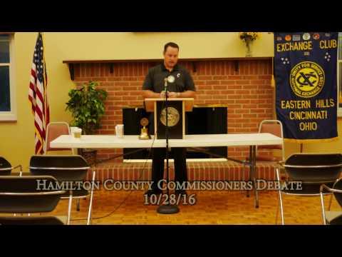 Hamilton County Commissioners Debate 10/28/16