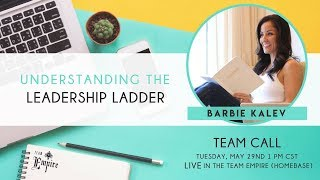Team Empire Call with Barbie Kalev on the Leadership Ladder