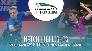 Kato Miyu vs Adina Diaconu | 2019 ITTF Challenge Spanish Open Highlights (Final) thumbnail