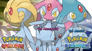 Pokemon Omega Ruby/Alpha Sapphire - Battle! Uxie/Mesprit/Azelf Music (HQ)