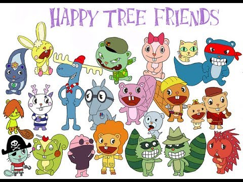 happy tree friends - Other & Anime Background Wallpapers ...