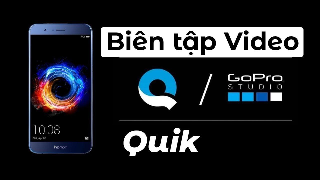 Hướng dẫn biên tập video bằng ứng dụng Quik // GoPro Editing App