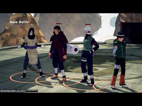 Anime Characters Only Mode - Base Battle - Mode NARUTO TO BORUTO: SHINOBI STRIKER