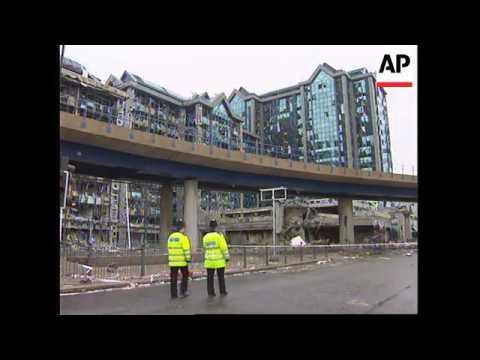 UK: LONDON: AFTERMATH OF IRA BOMB BLAST