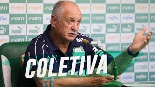 COLETIVA DO TÉCNICO FELIPÃO - PALMEIRAS X MELGAR-PER