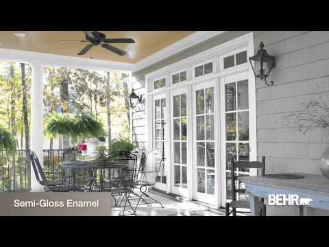 How To Paint Exteriors Choosing Sheen 3 10 Youtube
