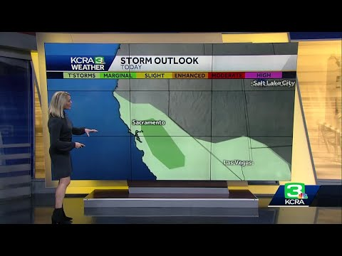 Stormy Thursday Ahead For Northern California