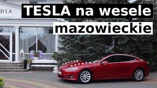 Tesla na wesele mazowieckie (Ostrołęka)