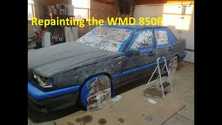 WMD Garage | Repainting the WMD Race Car