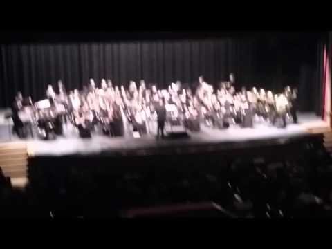 Merry Christmas from Hewitt Trussville Middle School Honors Band