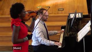 Young Gifted and Black for Solo Viola and Piano performed by Robin Fay Massie