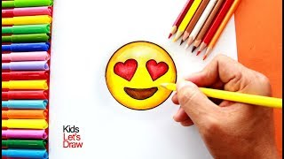 Cómo dibujar un Emoji paso a paso 3 | How to draw an Emoji 3