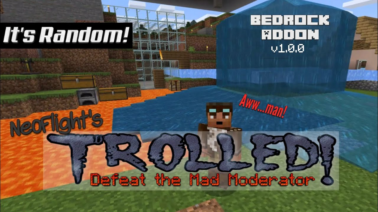 Trolled! Bedrock Edition Add-on with Download Link - YouTube