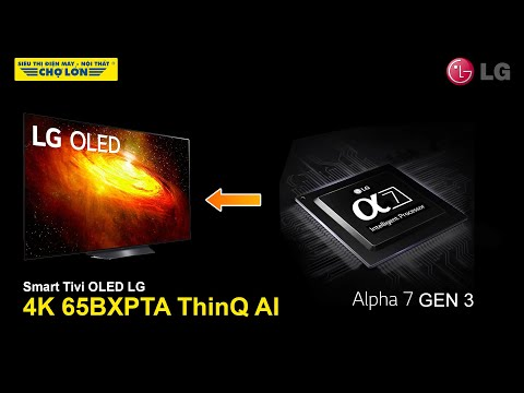 Smart Tivi OLED LG 4K 65 inch 65BXPTA - Đắt xắt ra miếng!