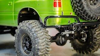 Custom Steel Exhaust Pipe for the RC4wd TF2 SWB Isuzu Amigo