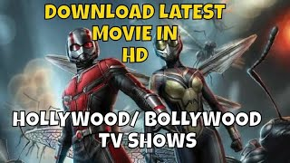 How To Download Latest Hollywood / Bollywood / Tv Shows In HD : World4ufree : Movies Download