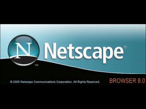 Netscape 9 on Windows 10