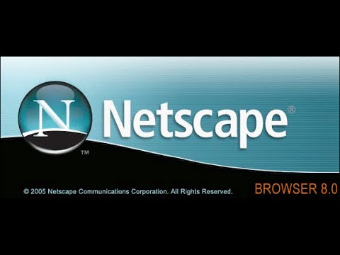 Netscape 9 on Windows 10
