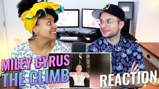 Miley Cyrus - The Climb | Instagram LIVE 2017 | REACTION