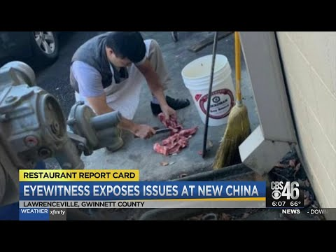 Eyewitness Exposes Other Issues At New China Restaurant