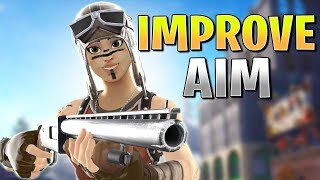 6 Ways To Improve Shotgun Aim For Fortnite! (Fortnite How To Aim PS4 + Xbox)