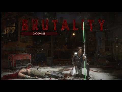 Mortal Kombat 11 - Jade: Getting Ahead Brutality