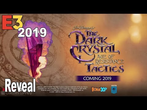 The Dark Crystal Age of Resistance Tactics - Reveal Trailer E3 2019 [HD 1080P]
