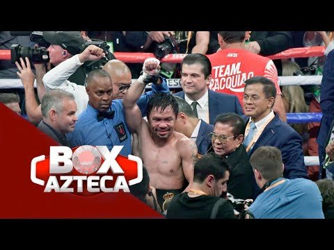 Box Azteca | Gran Pelea Del Pacman En Las Vegas