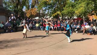 Indigenous Peoples Day Celebration 2017 -  Zuni Pueblo - Soaring Eagle Dance Group Clip 2