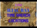 ESO ILIAC BAY TIME BREACHES - BREACHES ON THE BAY