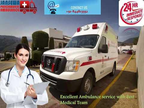 Avail of Vital Ambulance Service in Gandhi Maidan in Gandhi Maidan