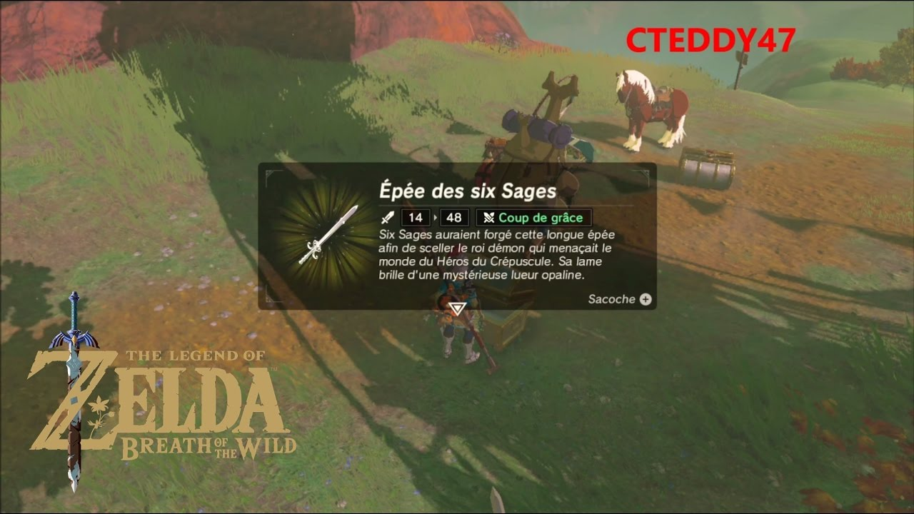 épée six sages enfin!!! Amiibo Ganondorf sur Zelda Breath
